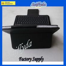 Top sell For iPad mini Bluetooth Keyboard leather case For iPad mini Keyboard leather case