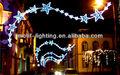 el 2014 de navidad al aire libre luz de la calle de la decoración