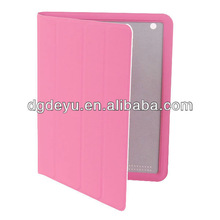 Slim magnetic PU Leather For ipad mini Case,For PU Leather Folding Case ipad