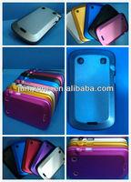 Aluminium Metal Silicon Cover Case for Blackberry Bold 9900 9930