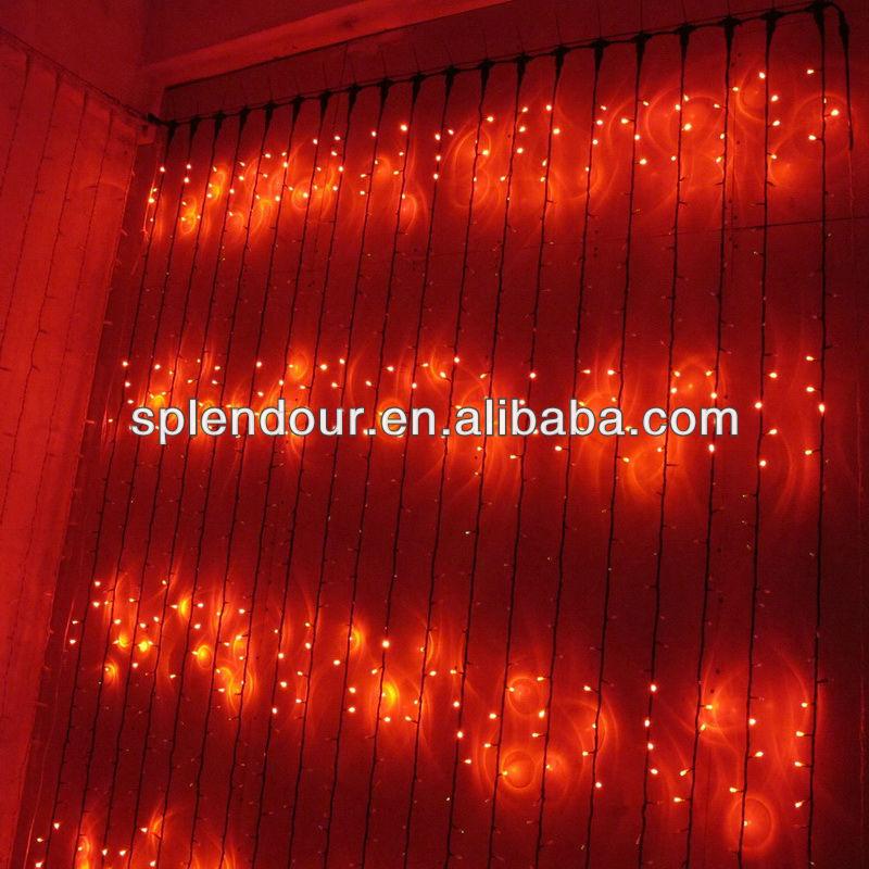 LED waterfall light/LED curtain light/LED Christmas light