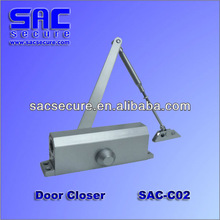 Fingerprint access control door closer, with rain cover (for option), tamper device SAC-C02
