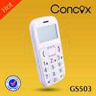 CE FCC certificates gps senior phone easy use cellphone GS503