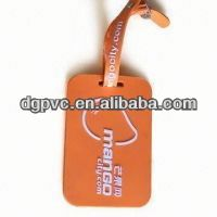 soft pvc round luggage tags ,woven luggage tags , luggage tags airline travel