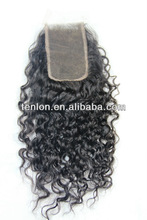 virgin indian curly top closure