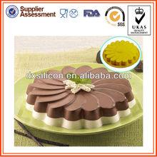 100% food grade Silicon cake mold with LFGB/FDA certification,bakeware