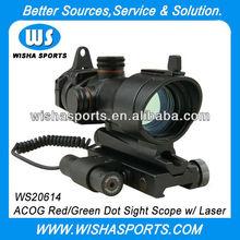 1X32 Red/Green Airsoft Tactical Dot Gun Sight Scope