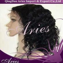 Full Lace Virgin Brazilian Human Remy Hair 100% Hand Made 5A Grade Wigs