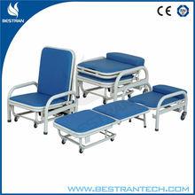 BT-CN002 Hot sales!!! High quality Companion anti-rust folding best recliner chair