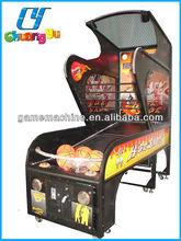 CY-BM01 USA Coin operated machine street basketball sale