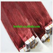 hot sale PU hair/100% virgin human hair alibaba in cambodian