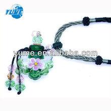 Handmade Aroma Essential Perfume Oil Bottle Lampwrok Pendant