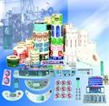caliente venta nuevo detergente diseño de diseño de la etiqueta