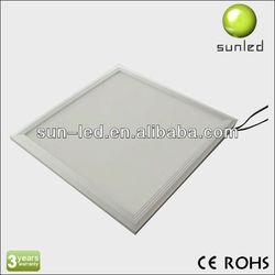 2013 High quality 600x600 led light slim panel/solar led christmas light solar panel