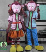 HI monkey mascot costumes