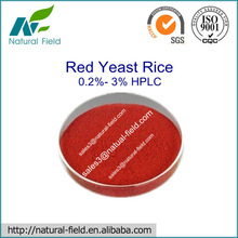 Hot-Selling Red Yeast Rice Extract 0.2%- 3% HPLC