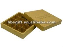 2012 super luxury paper chocolate gift box