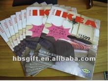 Folded art paper leaflet printing for promotional