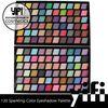 New 120 Sparkling Eyeshadow Palette glitter eyeshadow powder