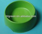 eco bamboo fiber dog bowl/feeder
