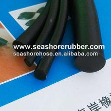 Black Circle Rubber Extrusions Seals