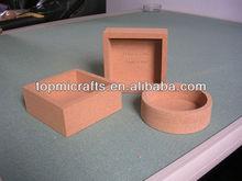 natural cork box/cork container/gift box