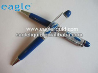plastic or metal aqua sand timer floater pen liquid pen aqua pen