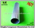 Tubería de aleación de aluminio 6063, 1050