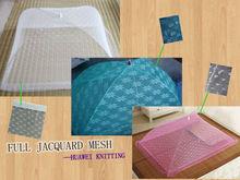 Thailand full jacquard mesh fabric