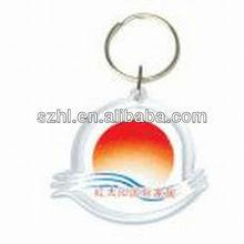 Sunrise drawing&novel acrylic key chain