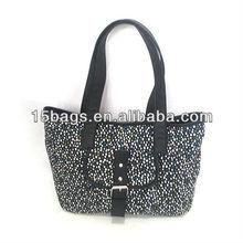 2013 Fashion leisure style women canvas bag