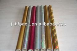 gold slive textile hot stamping foil for kinds of cloth