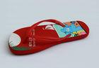 2013 red cute kids beach outdoor flip flop