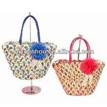 wholesale knitting straw bag