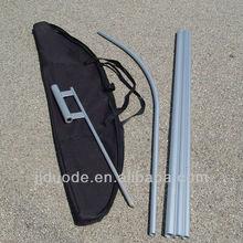 15FT Aluminium swooper flag pole outdoor use