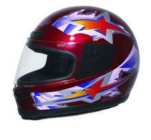 boa qualidade da cara cheia de fibra de carbono capacete para moto