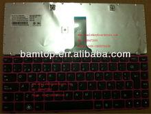teclados para portatil FOR LENOVO G480 G485 Spanish laptop keyboard SPAIN VERSION keyboard for LENOVO LOW PRICE KEYBOARD TECLADO