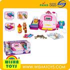 Toys Cashier/Super Market cash register/electic cashier for kids