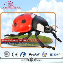 Giant insects Fiberglass Sculpture Ladybug Statue