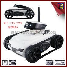 Happycow 777-287i-spy tanque com wifi câmera do espião 4-ch controlada peloiphone/ipad/ipod