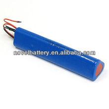 10.8V cylindrical Li-ion battery 2200mAh (14650)
