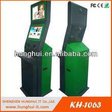 The latest design dual screen kiosk