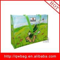 nonwoven fabric green bag shopping green bag