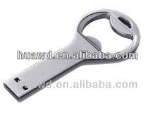 customized promotional gift bottle opener usb
