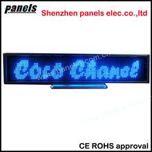 SMD high brightness 220 V 12 hours long battery lift led display sign for bus