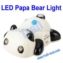 YH-215 Multipurpose Human Body Sensor Papa LED Bear Light