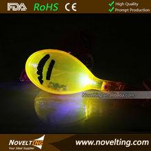 Promotional Decoration LED Maracas with Flashing Light