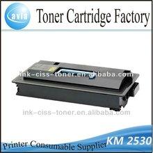 premium black toner cartridge for kyocera KM3035 toner cartridge plastic parts empty cartridge