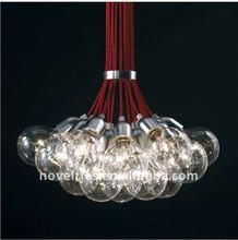 E27 transparent glass bubble pendant lamp lightings