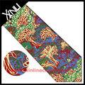 Diseño especial pintado a mano de seda